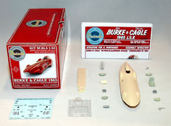 1965 Burke & Cagel Streamliner kit