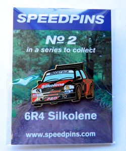 Speed pins No.2 6R4 Silkolene
