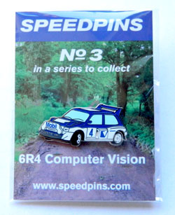 Speed Pins No.3 6R4 Computer Vision